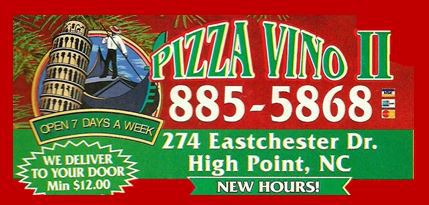 Pizza Vino's of High Point, NC